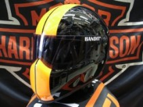 "92484 BANDIT HELMETS  ""XXR"" ORANGE/BLACk"